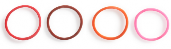 SeriO: Bb Clarinet-ClarO – Base color: bright (red) and dark(brown)-Color of sound: ringy (orange) and sweet (pink)