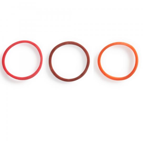 SeriO: A Clarinet- ClarO – Base color: bright (red) and dark(brown)-Color of Sound: ringy (orange)